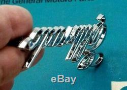 Nos 76 77 78 Cadillac Eldorado Trunk Script Emblem Genuine Gm Oem Trim