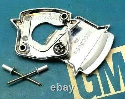 Nos 77 78 79 Cadillac Trunk Lock Cover Crest Emblem Flip LID Ornament Gm Trim