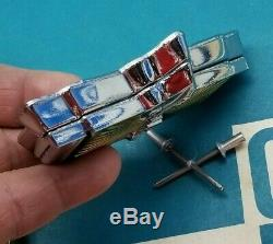 Nos 77 90 Chevy Caprice Classic Trunk Lock Cover Emblem Flip LID Gm Trim Molding