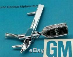 Nos 78 79 80 Hurst Olds Calais Header Panel Emblem Hood Ornament Gm W-30 Ho H/0