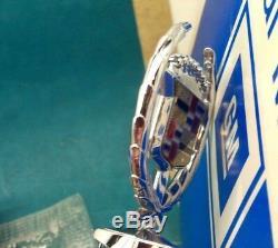 Nos 80 92 Cadillac Fleetwood Brougham Hood Ornament Header Emblem Molding Trim