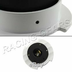 Nrg Srk-250bk-wt Black/white 6-hole Steering Wheel Gen 2.5 Quick Release Adapter