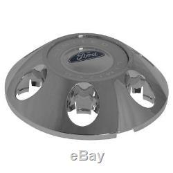 OEM BL3Z-1130-A 6 Lug Wheel Center Cap Limited Chrome & White for Ford F150 New