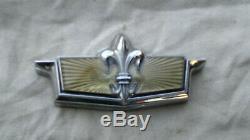 Oem 77 90 Chevy Caprice Classic Trunk Lock Cover Emblem Flip LID Gm Trim Molding