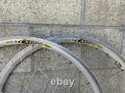 Rare Vintage White Industries TANDEM Wheelset 36H 100mm X 160mm X 700C Very Nice
