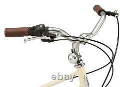 Schwinn Admiral Hybrid Bike, 7-speeds, 700c wheels, White/Cream NEW