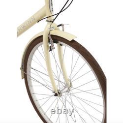 Schwinn Admiral Hybrid Bike, 7-speeds, 700c wheels, White/Cream New in Box