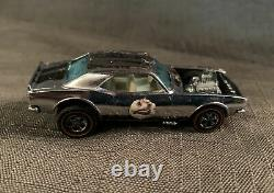 Vintage Hot Wheels REDLINE Camaro HEAVY CHEVY Chrome Club WHITE Int 1969 HK NICE