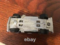 Vintage Hot Wheels REDLINE Camaro HEAVY CHEVY Chrome WHITE Int. Tint 1969 NICE