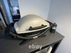 Weber Q 1000 1-Burner Portable Gas Grill With Accessories